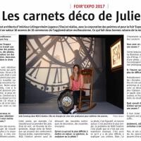 JULIE SOONTAG ENCHANTE LA FOIR'EXPO DE MULHOUSE