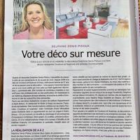 UN PORTRAIT DE DELPHINE DENIS PIDOUX DANS OUEST FRANCE