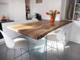 Appart 70m2 Sautron - Zoom table surmesure en noyer