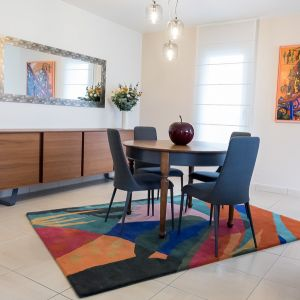 Vignette Salle à manger mix contemporain et meuble customisé