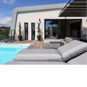 Vignette Terrasse sur toit avec piscine