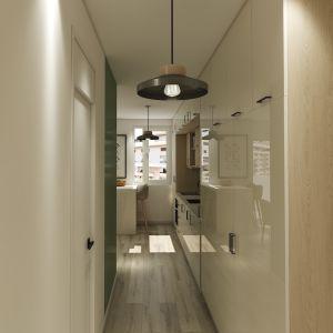 Vignette entrée et couloir