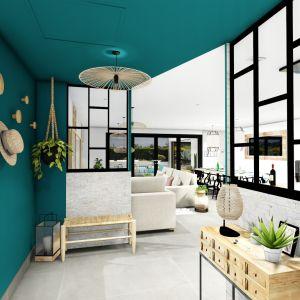 Vignette Rénovation pièce de vie: cuisine, salon, salle à manger, entrée, arrière cuisine et cuisine d'été, villa Garéoult Var