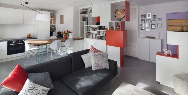 amenagement appartement 44 m2